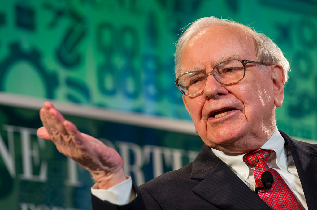 THE CRISIS: The decline of Berkshire Hathaway's stock from Triple-A status