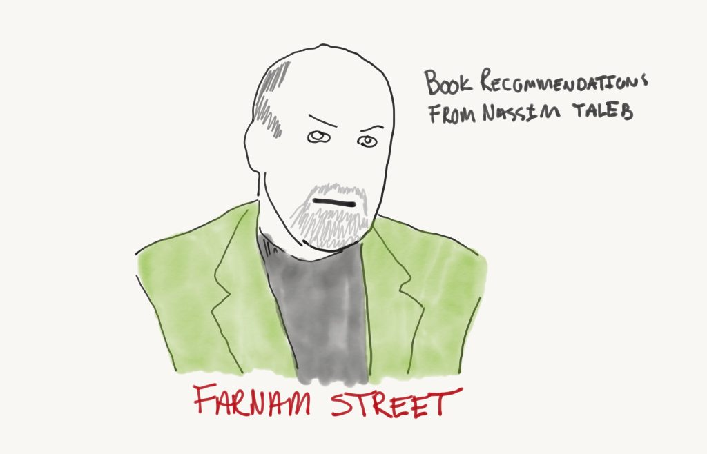 Book Recommendations from Nassim Taleb