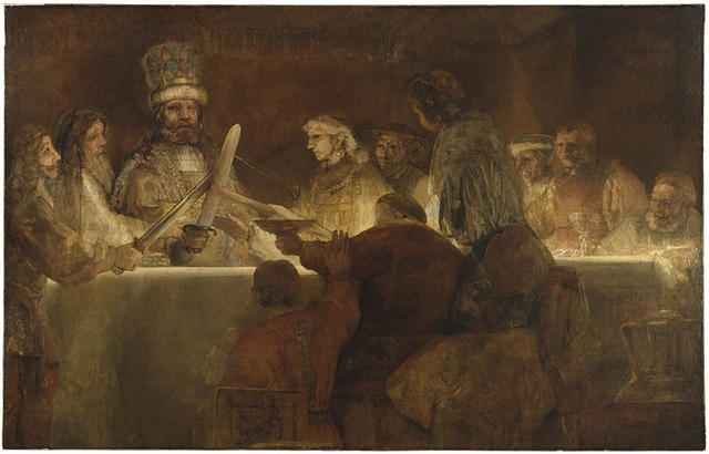 Rembrandt: The Conspiracy of Claudius Civilis