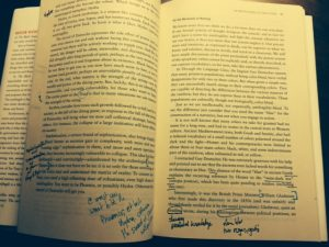 Taking Notes While Reading