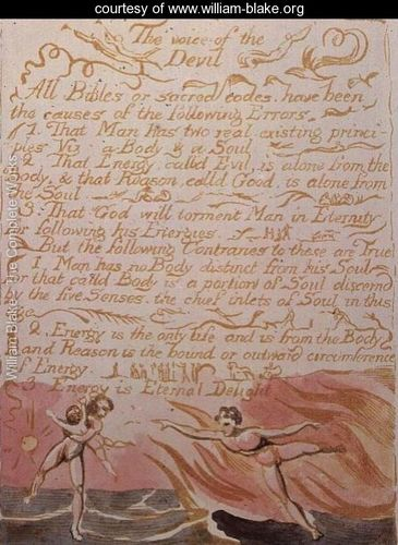 William Blake Heaven and Hell