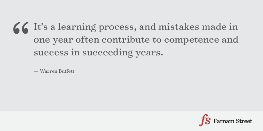 Warren Buffett on Mistakes