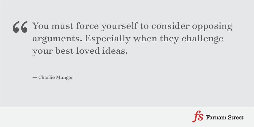 Munger Consider Ideas
