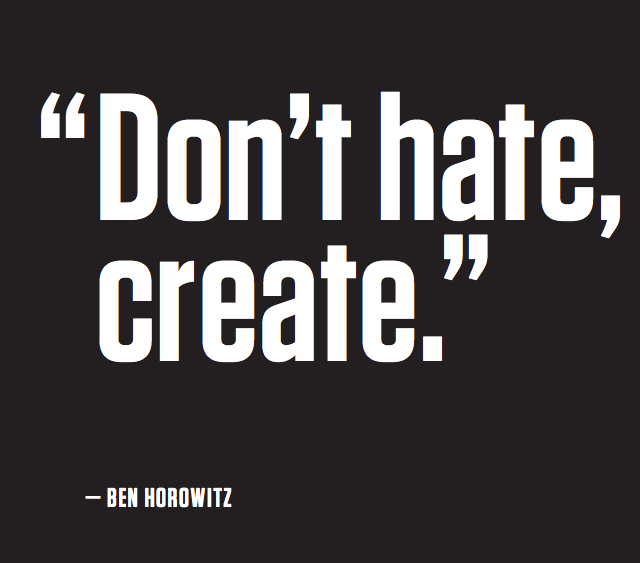 99u Don't hate Create