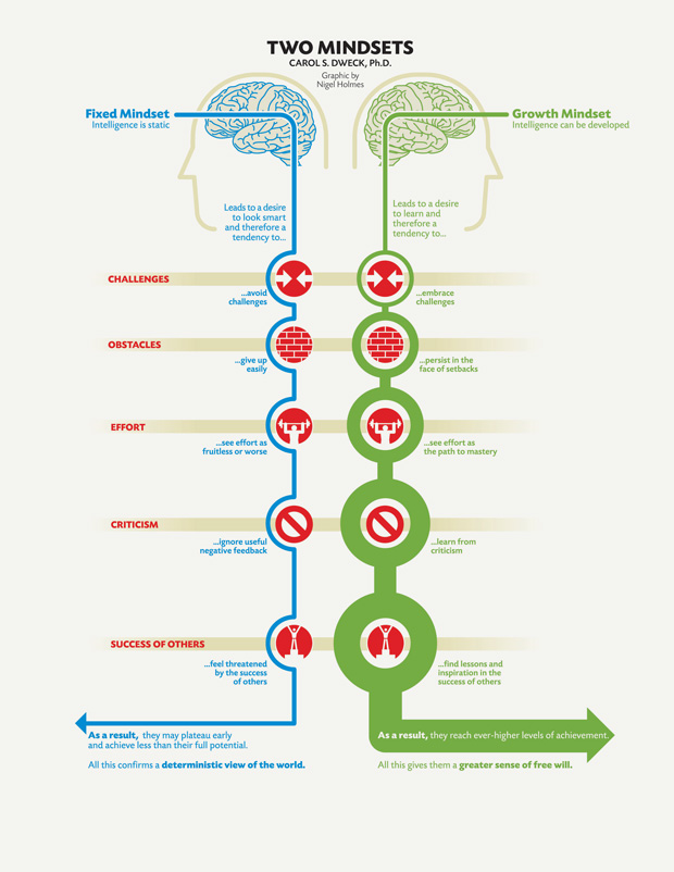 Carol Dweck: A Summary of The Two Mindsets