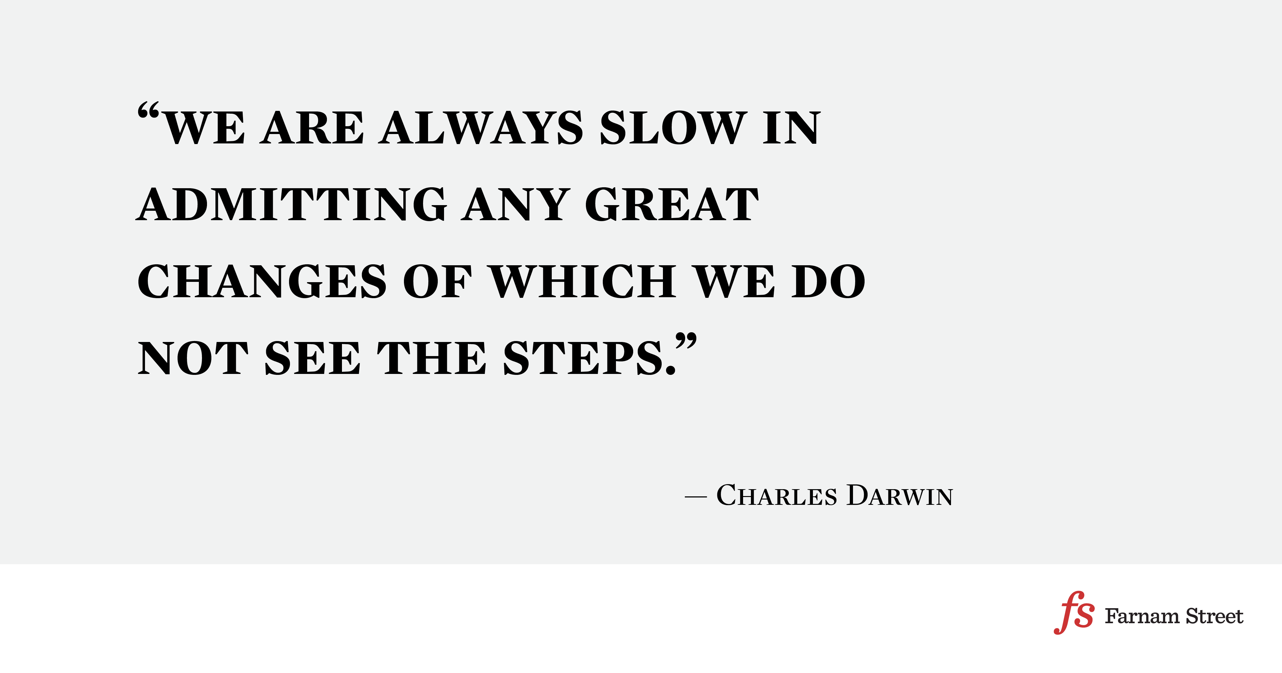 what made charles darwin an effective thinker follow the golden rule