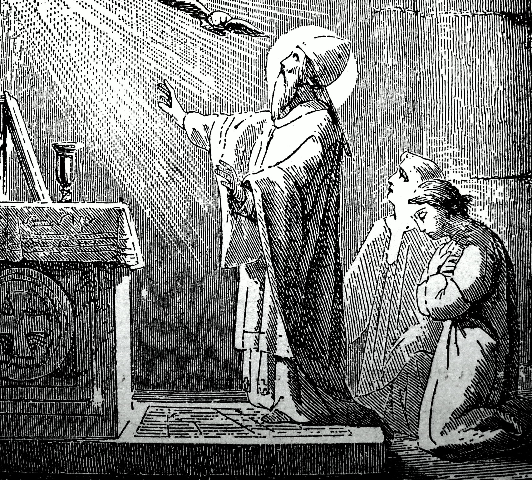 """Gregory VII saying Mass"" (Via Wikipedia)"