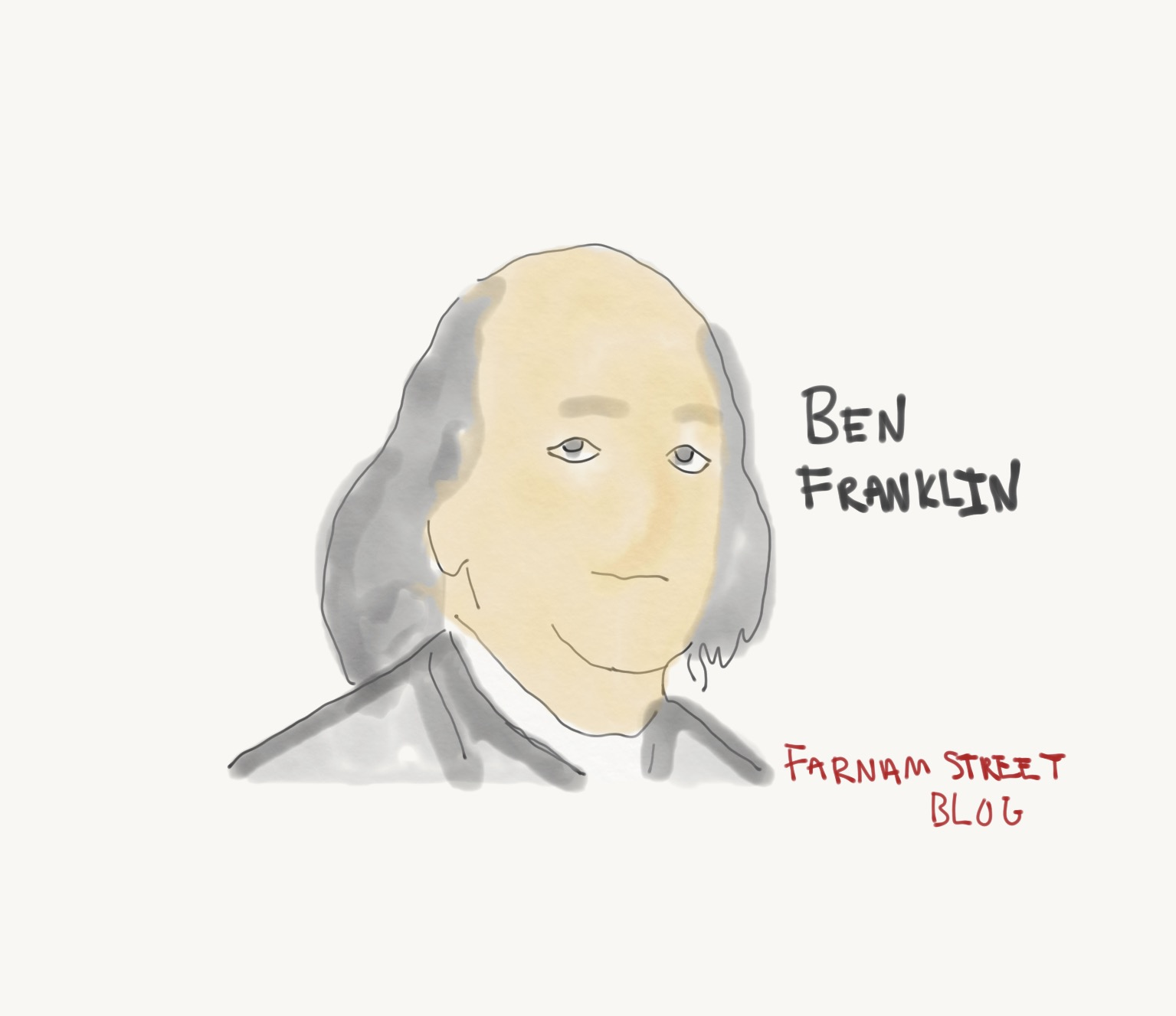 ben franklin and the virtues and ills of pursuing luxury