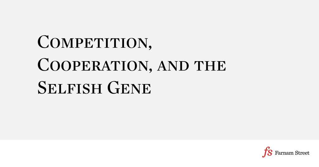 book synopsis on the selfish gene essay This idea has been expressed by richard dawkins in the selfish gene which   the obsession to statistically plot intelligence through the bell-shaped curve.