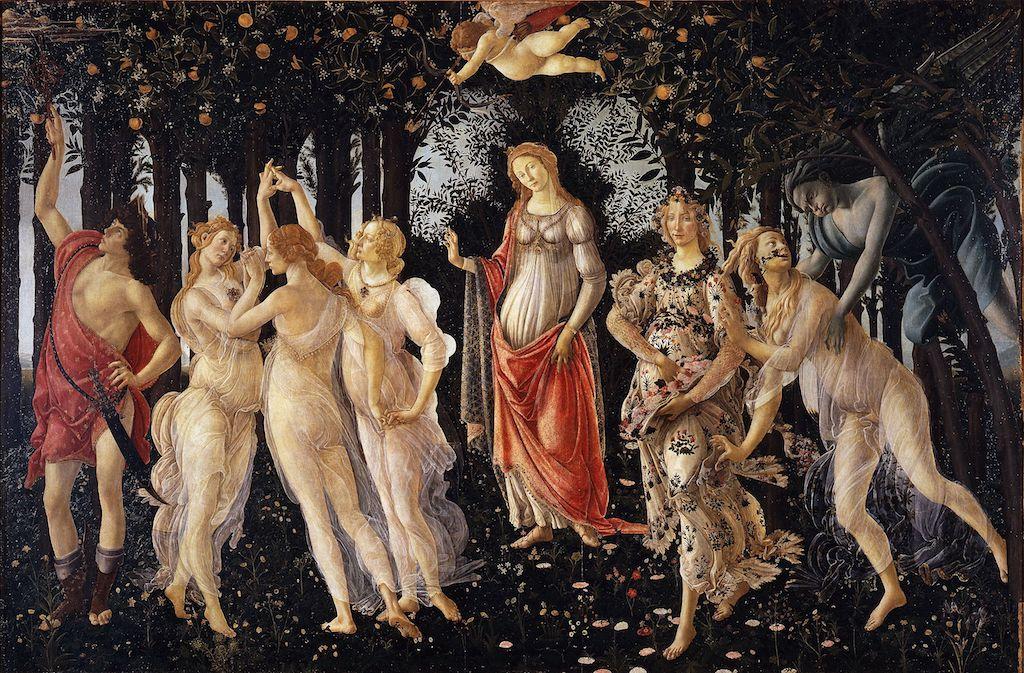 Botticelli primavera