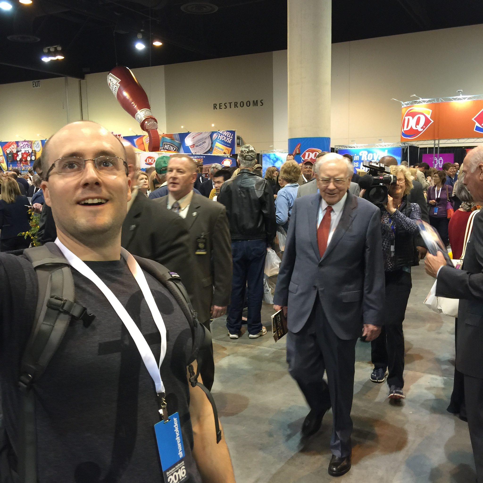 ive been going to the berkshire hathaway annual shareholders meeting almost yearly since 2008 my routine might be familiar to many maybe uncomfortably